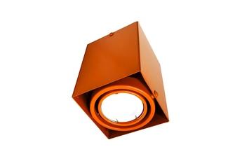 LAMPA SUFITOWA BLOCCO POMARAŃCZOWA  1x7W GU10 LED