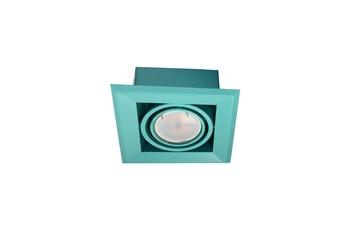LAMPA PODTYNKOWA BLOCCO TURKUS 1x7W GU10 LED