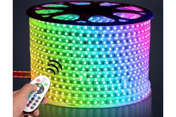 WĄŻ LED RGB 5M
