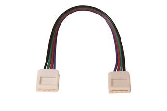 Złączka LED RGB 10mm. Łącznik dwóch stron.