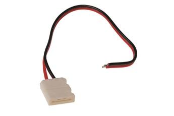 Złączka LED RGB 10mm. Łącznik z jedej strony.