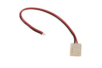 Złączka LED 8mm. Łącznik z jednej strony.