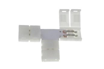 Złączka LED 10mm. Kształt: T
