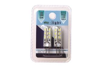 Żarówka LED 1,5W G4 12V Dwu-pak. Barwa: Zimna