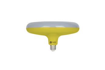 ŻARÓWKA UFO 15W LED ZÓŁTA + KABEL W OPLOCIE