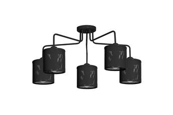 Lampa Sufitowa LOUISE BLACK 5xE27