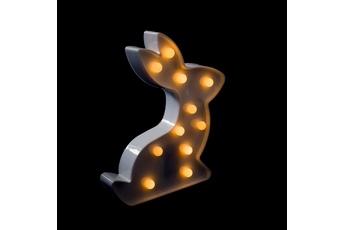 PLASTIKOWY ZAJĄC LED