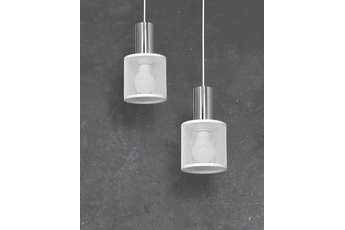 Lampa Wisząca ARES WHITE 2xE27