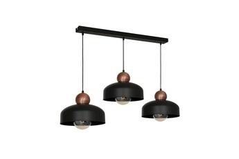 Lampa Wisząca HARALD BLACK 3xE27