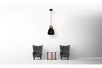 Lampa Wisząca TAURUS BLACK 1xE27