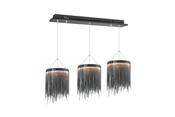 LAMPA WISZĄCA CASCATA BLACK 54W LED
