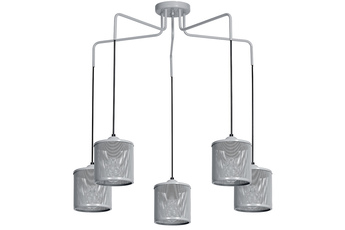 Lampa wisząca LOUISE GREY 5xE27