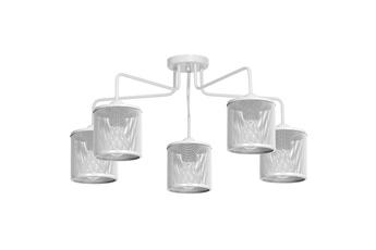 Lampa Sufitowa LOUISE WHITE 5xE27