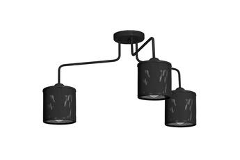 Lampa Sufitowa LOUISE BLACK 3xE27