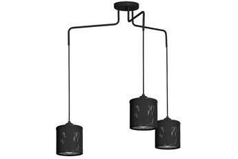 Lampa Wisząca LOUISE BLACK 3xE27