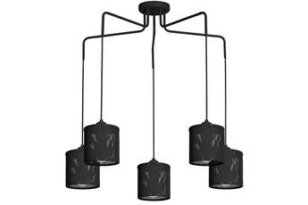 Lampa Wisząca LOUISE BLACK 5xE27