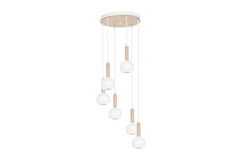 Lampa wisząca BOLLE WHITE 6xGU10