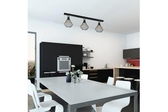 Lampa sufitowa JEWEL BLACK 3x27
