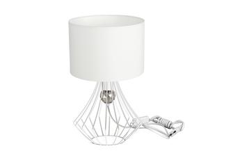 Lampka stołowa JEWEL WHITE 1xE27