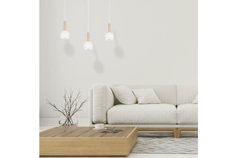 Lampa wisząca BOLLE WHITE 3xGU10
