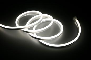 NEON FLEX LED ZIMNY BIAŁY 5M 230V