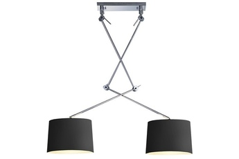 lampa wisząca ADAM MD2299-2S BK/SN