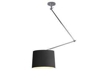 lampa wisząca ADAM MD2299-S BK/SN