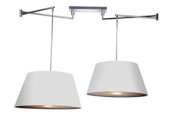 lampa wisząca NATALIA 2 S WHITE MD2238-2S WH