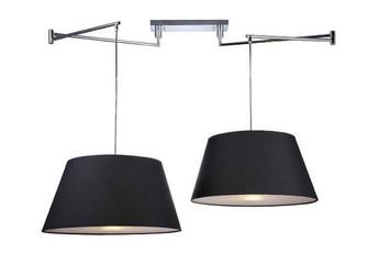 lampa wisząca NATALIA 2 S BLACK MD2238-2S BK