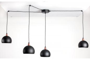 lampa wisząca Pająk 4NP Czarny