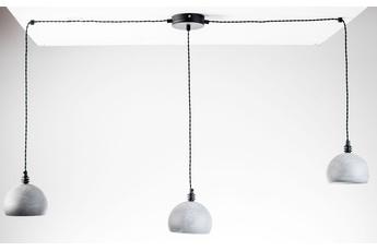 lampa wisząca Pająk 3NP beton