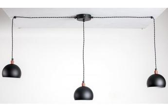 lampa wisząca Pająk 3NP czarny