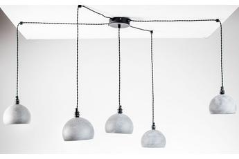 lampa wisząca Pająk 5NP beton