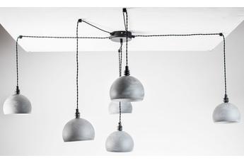 lampa wisząca Pająk 6NP beton