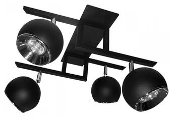 lampa sufitowa kula P4 BK/CH