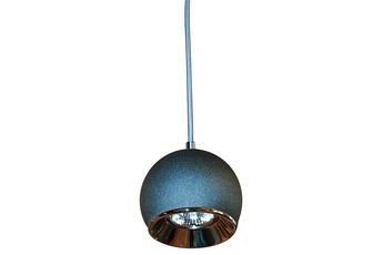 lampa wisząca KULA W1 GRA/CH