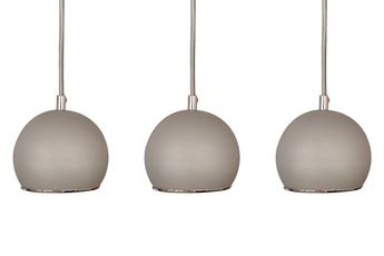 lampa wisząca KULA W3 GR/CH