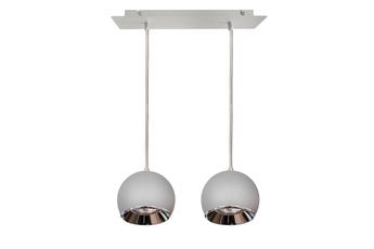 lampa wisząca KULA W2 GR/CH