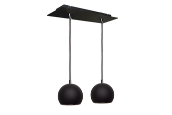 lampa wisząca KULA W2 BK/CH