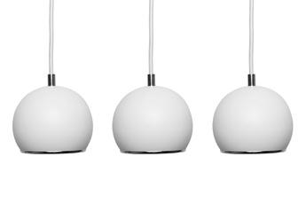 lampa wisząca KULA W3 WH/CH