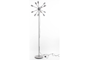 lampa podłogowa GENEWA szara