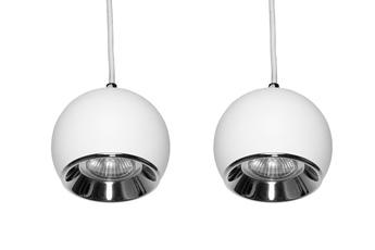 lampa wisząca KULA W2 WH/CH