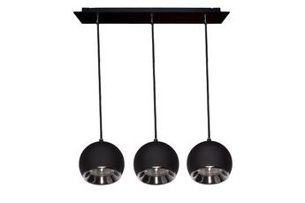 lampa wisząca KULA W3 BK/CH