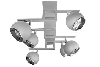 lampa sufitowa kula P6 GR/CH