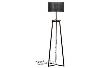 lampa podłogowa FLOKI czarny/marmur dark