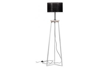 lampa podłogowa FLOKI czarny/marmur crema