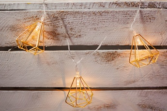 DIAMENT METALOWY LED