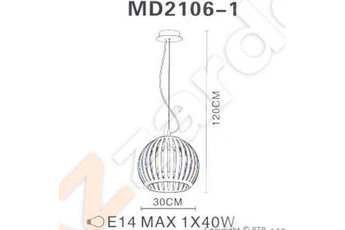 lampa wisząca Arcada M MD2106-1SO Orange