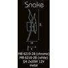 kinkiet Snake MB 6219-2B Chrome
