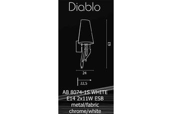 kinkiet Diablo AB 8074-1S